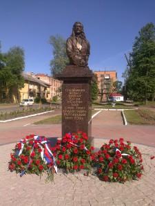 Памятник графу Савве Владиславичу-Рагузинскому в городе Шлиссельбурге