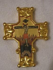 Крест работы сербского миниатюриста Владимира Четковича