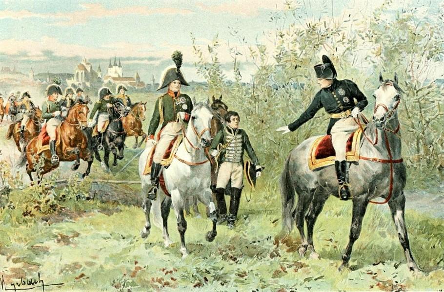 Наполеон и Александр I в Эрфурте