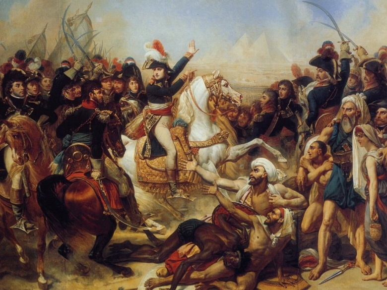 Барон Антуан-Жан Гро: БИТВА У ПИРАМИД 21 ИЮЛЯ 1798