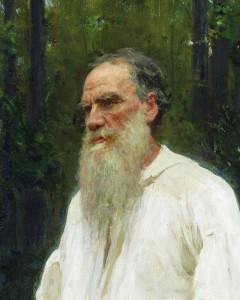 И. Е. Репин. ЛЕВ ТОЛСТОЙ В 1901 Г.