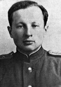 Сергей Евгеньевич Клименко, праправнук А. С. Пушкина. Фотография 1947 г.
