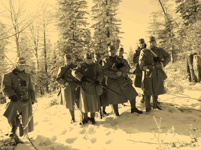 Солдаты армии Австро-Венгрии