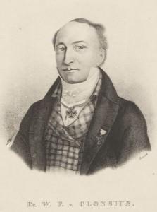 Вальтер Фридрих Клоссиус (1796—1838)