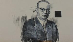 Ivo Andrić - mural