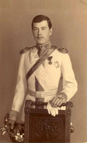 Цесаревич Николай Александрович в 1890 году.