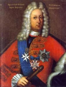 Генерал-фельдмаршал Борис Петрович Шереметев (1652-1719), первый граф Российского Царства