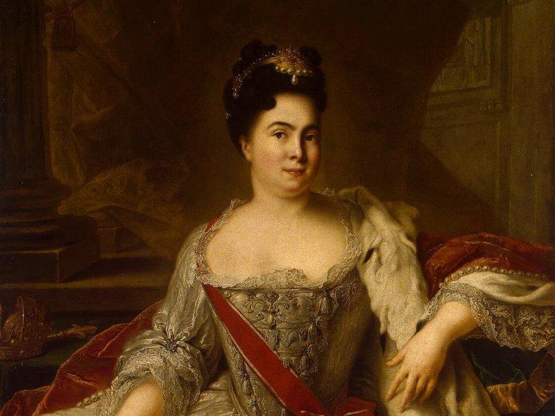 Императрица Екатерина I (1684-1727)