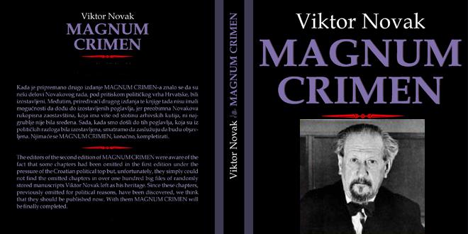 """Обложка второго издания книги """"Магнум Кримен (Великое преступление) Виктора Новака (1889-1977)"""