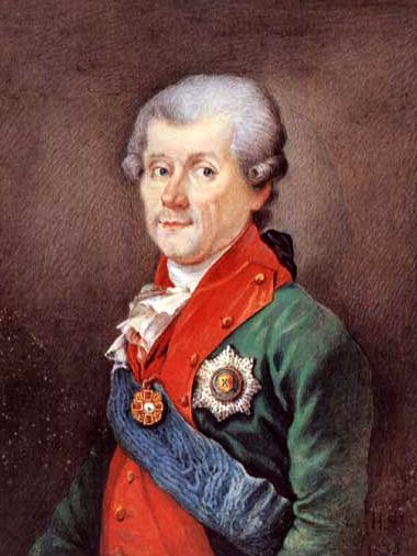 Граф Михаил Васильевич Каховский (1734-1800). Русская акварель в собрании Государственного Эрмитажа.