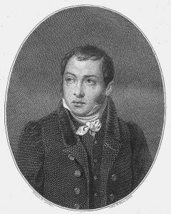 Фаддей Булгарин (1789-1859). Портрет авторства И. Фридерика, 1828