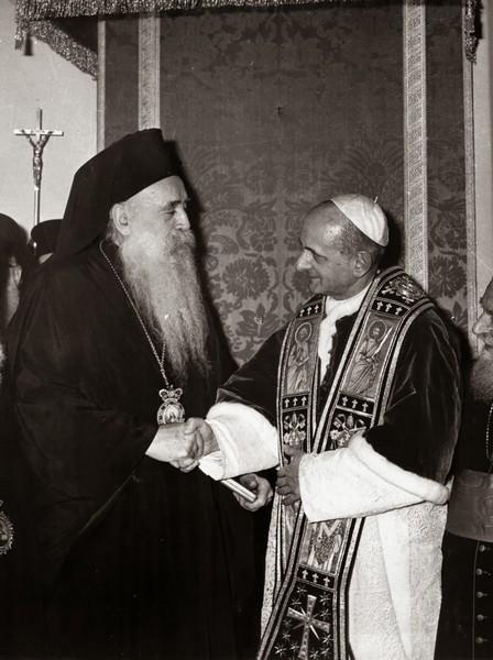 Патриарх Афинагор и Папа Иоанн ХХIII