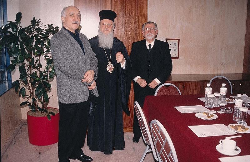 Вселенский Патриарх Варфоломей и сектант миллионер Гюлен