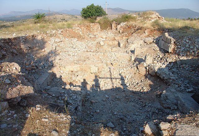Место бившег храма у Пребиловцима