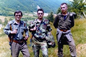 Миланко и Пешак као ратници
