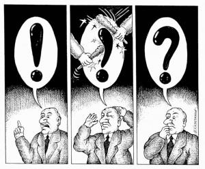 Знак узвика и знак питања