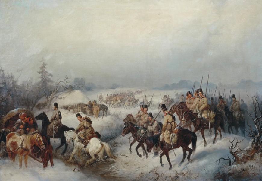 Козачки пукови похитали су према Инду да потуку Британце у Индији, самом срцу њихове колонијалне империје