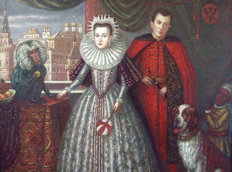 Марина Мнишек, супруга Лажидимитрија I и Лажидимитрија II, прва крунисана руска Царица пре Јекатерине I