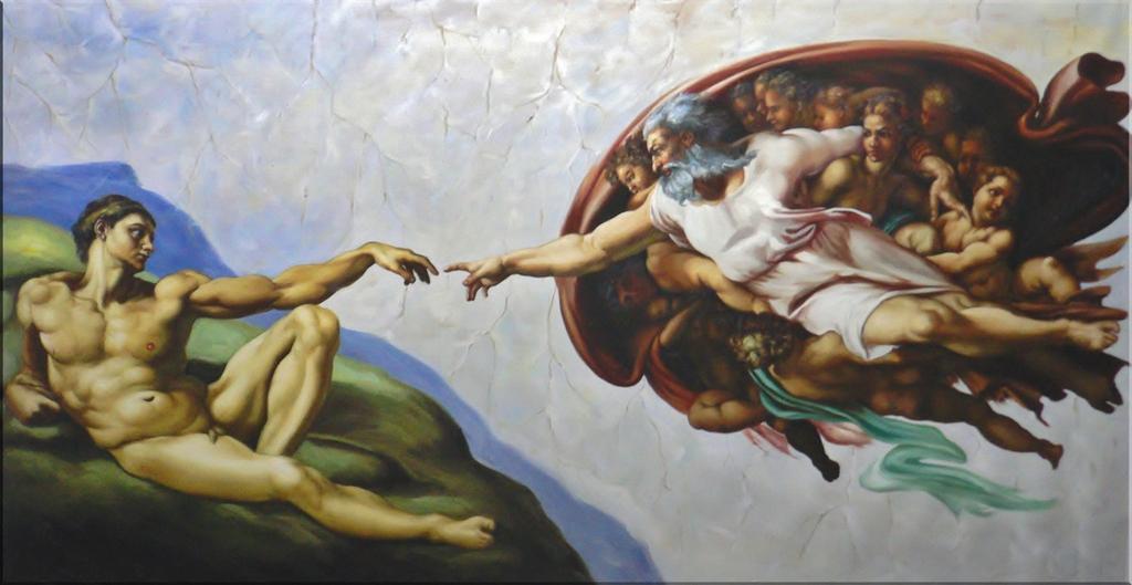 1Stvaranje-Adama-Mikelandjelo