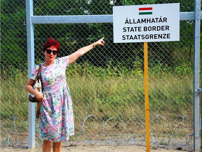 """Код """"великог"""" мађарског зида, који Мађарска подиже да би се заштитила од усељеника"""