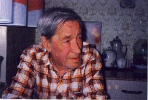 Григориј Григорјевић Пушкин, 19. децембра 1996. Фотографија ауторке.
