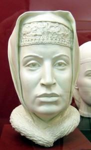 Софија Палеолог. Реконструкција С. А. Никитина, 1994.