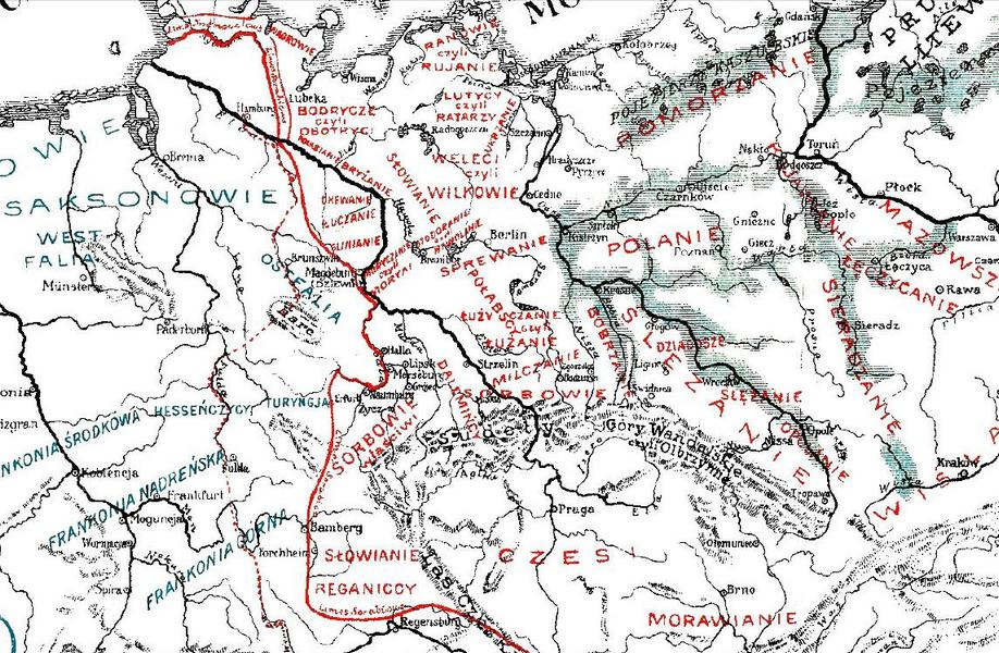 Франачка граница према Србима (Limes Sorabicus)