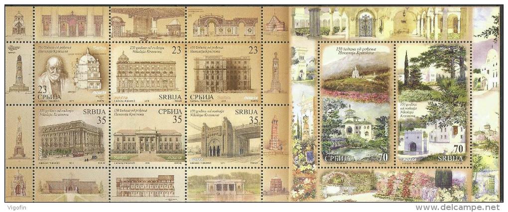 Nikolaj Krasnov - dela na poštanskim markicama