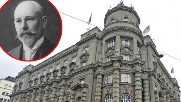 Nikolaj Petrovic Krasnov - Zgrada Vlade Srbije