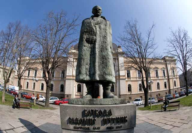 Споменик Војводи Радомиру Путнику у Крагујевцу