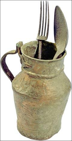 Najstariji pribor za jelo - Hilandar