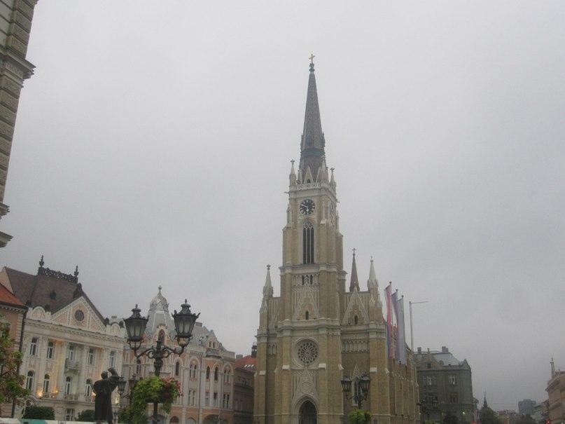 Нови Сад. Црква имена Маријиног