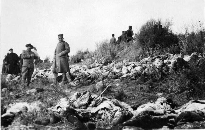 Умрли српски војници на острву Видо, фебруара 1916. године