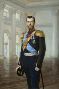 Ернест Карловић Липхарт: ЦАР НИКОЛАЈ II. Уље на платну, 1900.