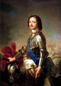 Жан Марк Натије: ПОРТРЕТ ПЕТРА I У ВИТЕШКОМ ОКЛОПУ (1717)