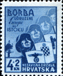 Хрватски легионари: Борба удружене Европе на Истоку. П6штанс2а 0ар2а 5з д6ба НДХ