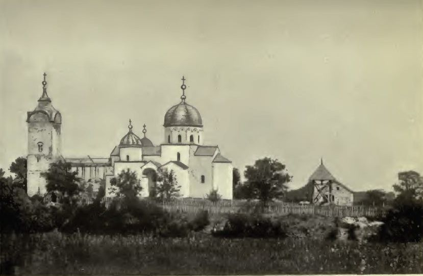 Манастир Жича 1889. године