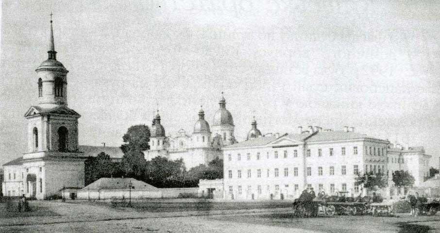 Здање Кијевске духовне академије 1880-их година