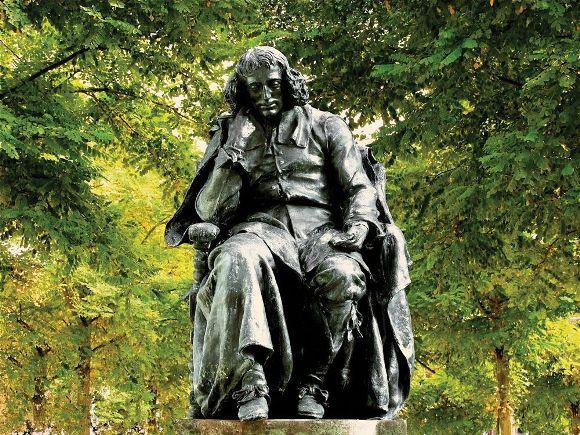 Spinoza standbeeld