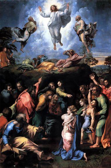 Рафаело Санти: ИСУСОВО ПРЕОБРАЖЕЊЕ
