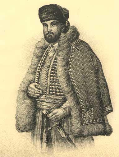 Митрополит (Владика) Данило I Петровић Његош (око 1670 - 1735)
