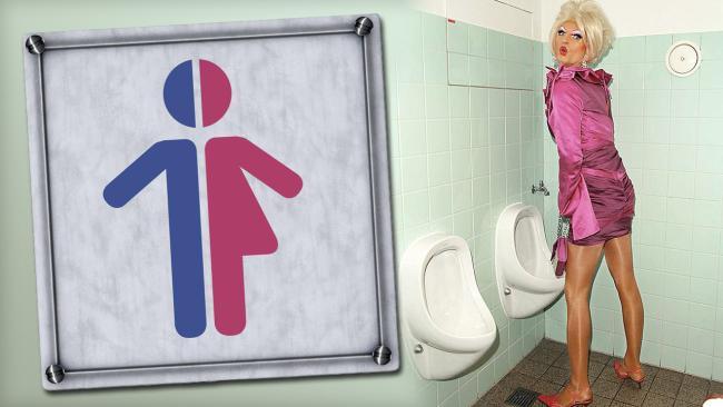 Transvestit u WC-u