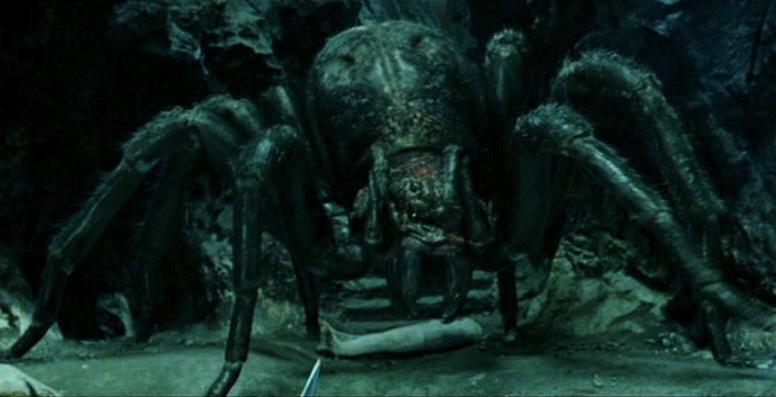 """Паучица Шелоба у филму """"Господар прстенова: Повратак краља"""""""