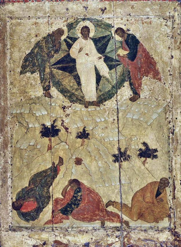 Андреј Рубљов - ПРЕОБРАЖЕЊЕ ГОСПОДЊЕ, 1405. (Благовештењски Сабор, Москва)