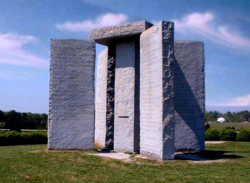 Споменик у Џорџији