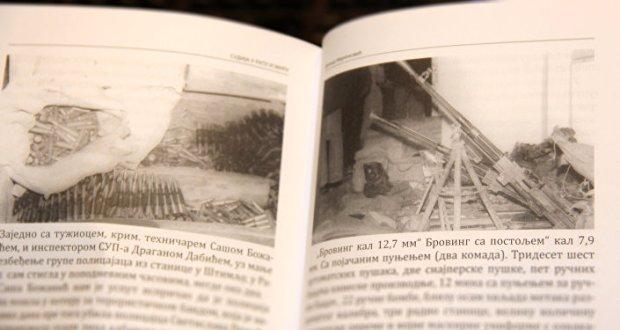 """Илустрација из књиге """"Судија у рату и миру"""" - оружје нађено у Рачку"""