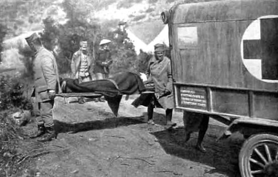 Српско санитетско возило у Великом рату