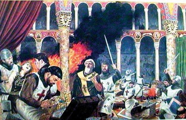 Крсташки покољ православних у Цариграду