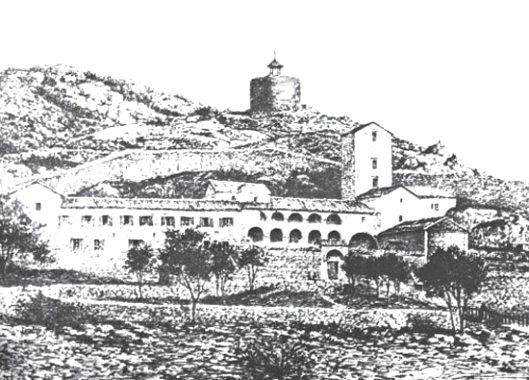 - Цетињски манастир Рођења Пресвете Богородице, око 1830. године