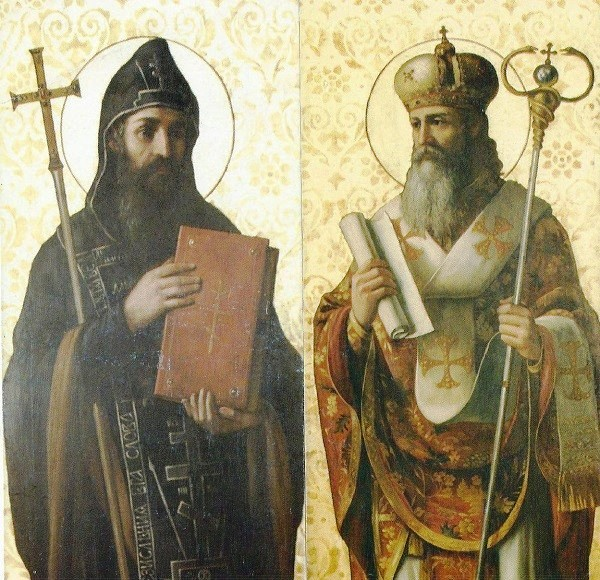 Равноапостолна браћа Ћирило и Методије